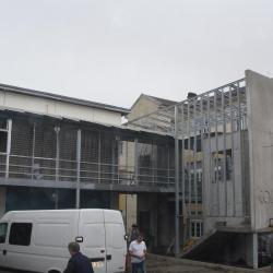 Ossature de facade métallique