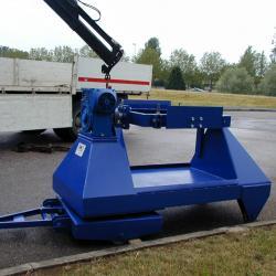 Chariot de rotation de charges lourdes automatisé